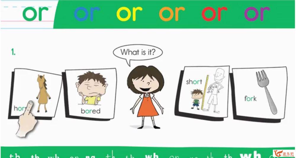 美式英语启蒙教程之音标自然拼读教学动画 1-30集全视频课程百度网盘下载