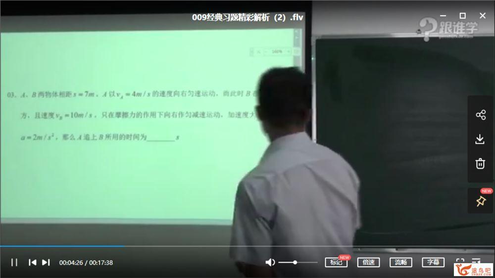 刘挺物理 高中高一物理必修一(45讲)课程视频百度云下载