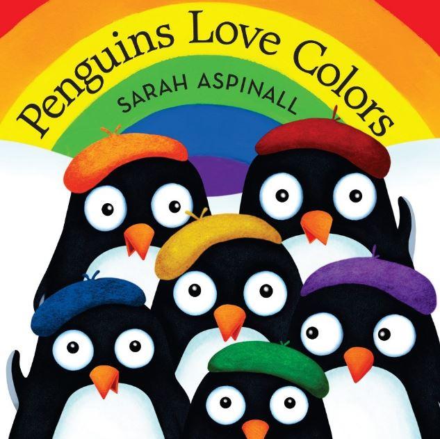 [0-3岁] [PDF]Penguins Love Colors(高清可打印)资源百度云下载