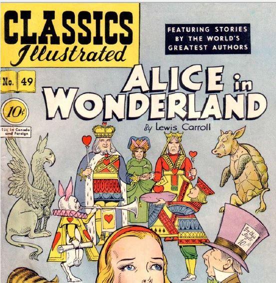 [6岁以上] 经典漫画版《爱丽丝梦游仙境》绘本百度云下载