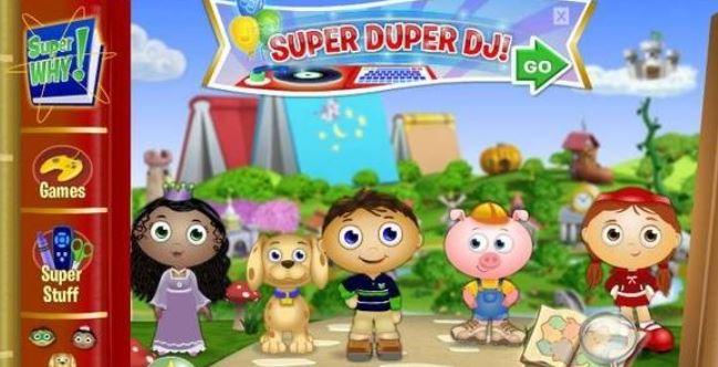 自然拼读进阶动画片Super Why全2季80集课程视频百度云下载