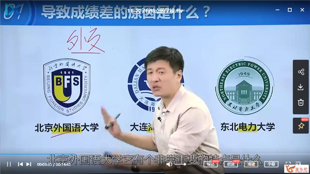 2020届 张雪峰高考填报志愿专题课视频课程百度云下载